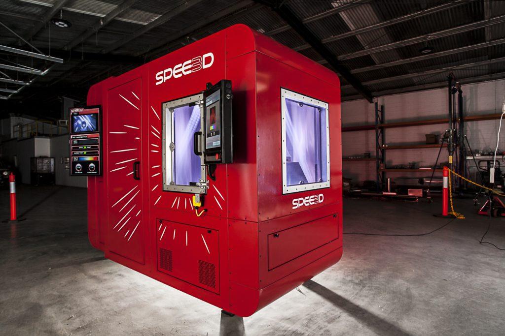 A SPEE3D LightSPEE3D 3D printer.