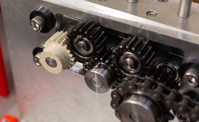 Z-PEEK is strong enough for gears operating at high speeds under significant loads. Photo via Zortrax.  - Z PEEK is strong enough for gears operating at high speeds under significant loads - Zortrax launches new space-grade Z-PEEK 3D printing filament