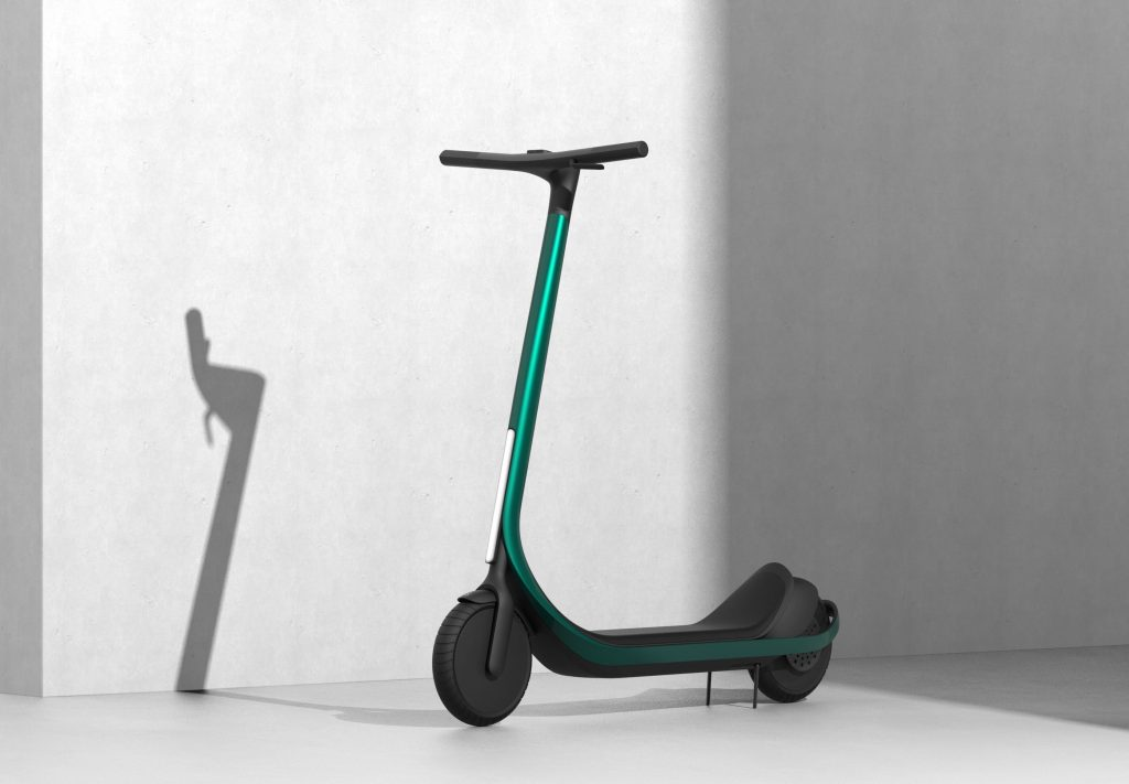 Arevo's 3D printed 'Scotsman' electric scooter.