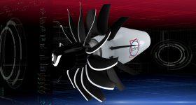 Concept render for the new RISE jet engine. Image via CFM International.