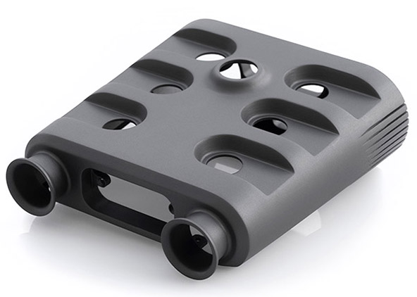 A component 3D printed in Windform RS. Photo via CRP Technology.