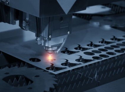 One of Prototek's subtractive manufacturing machines in action.