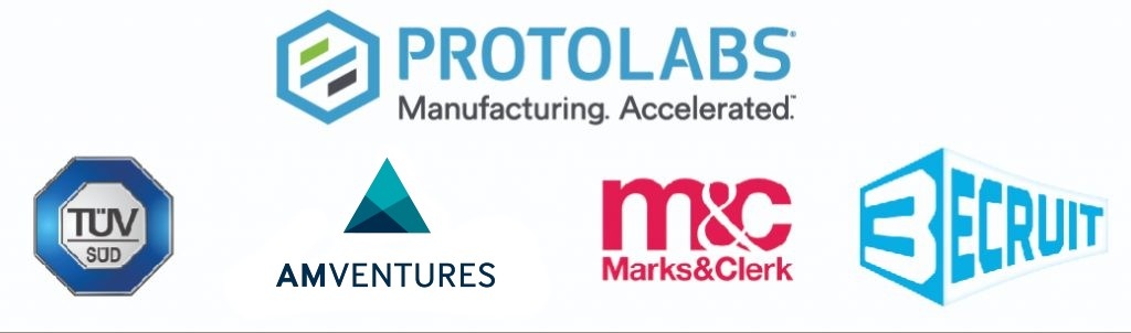 Sponsors of the 2021 3D Printing Industry Awards.
