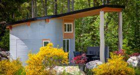 Twente AM's rentable 3D printed home in British Colorado.