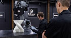 Continuous Composites' CF3D printing technology. Photo via Continuous Composites.