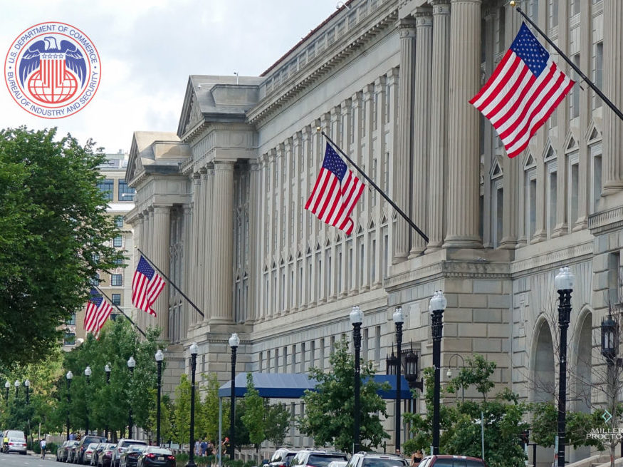 The U.S. Bureau of Industry and Security.