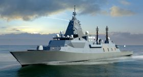 BAE Systems has been selected as the preferred tenderer with the Global Combat Ship - Australia for the Navy's future frigate capability. Photo via Royal Australian Navy.
