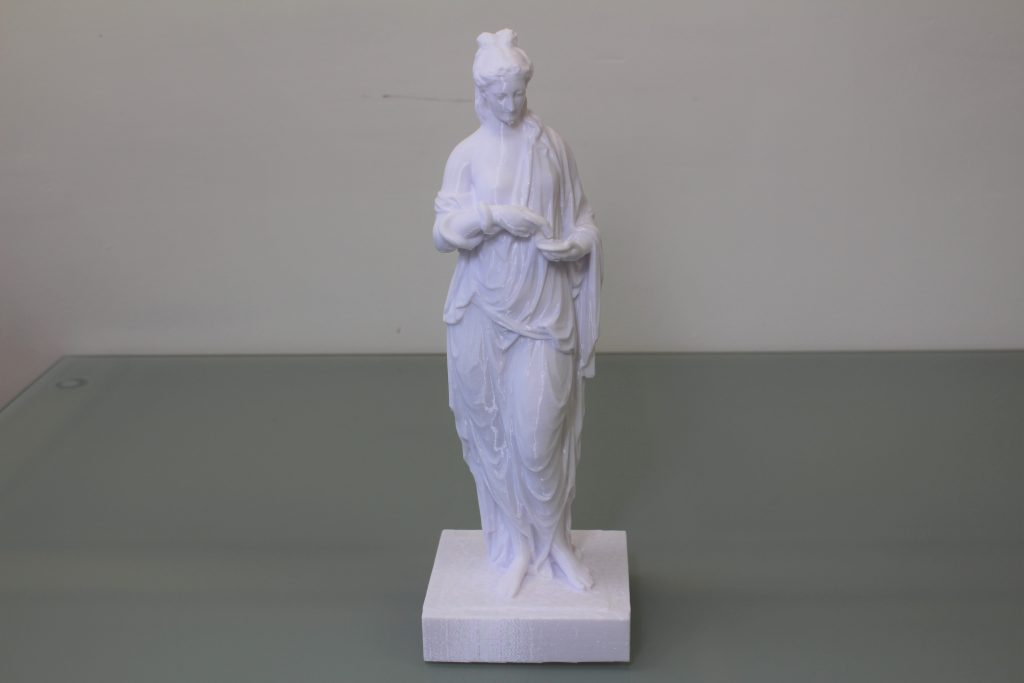 Statue of Hygieia. Photo by 3D Printing Industry.