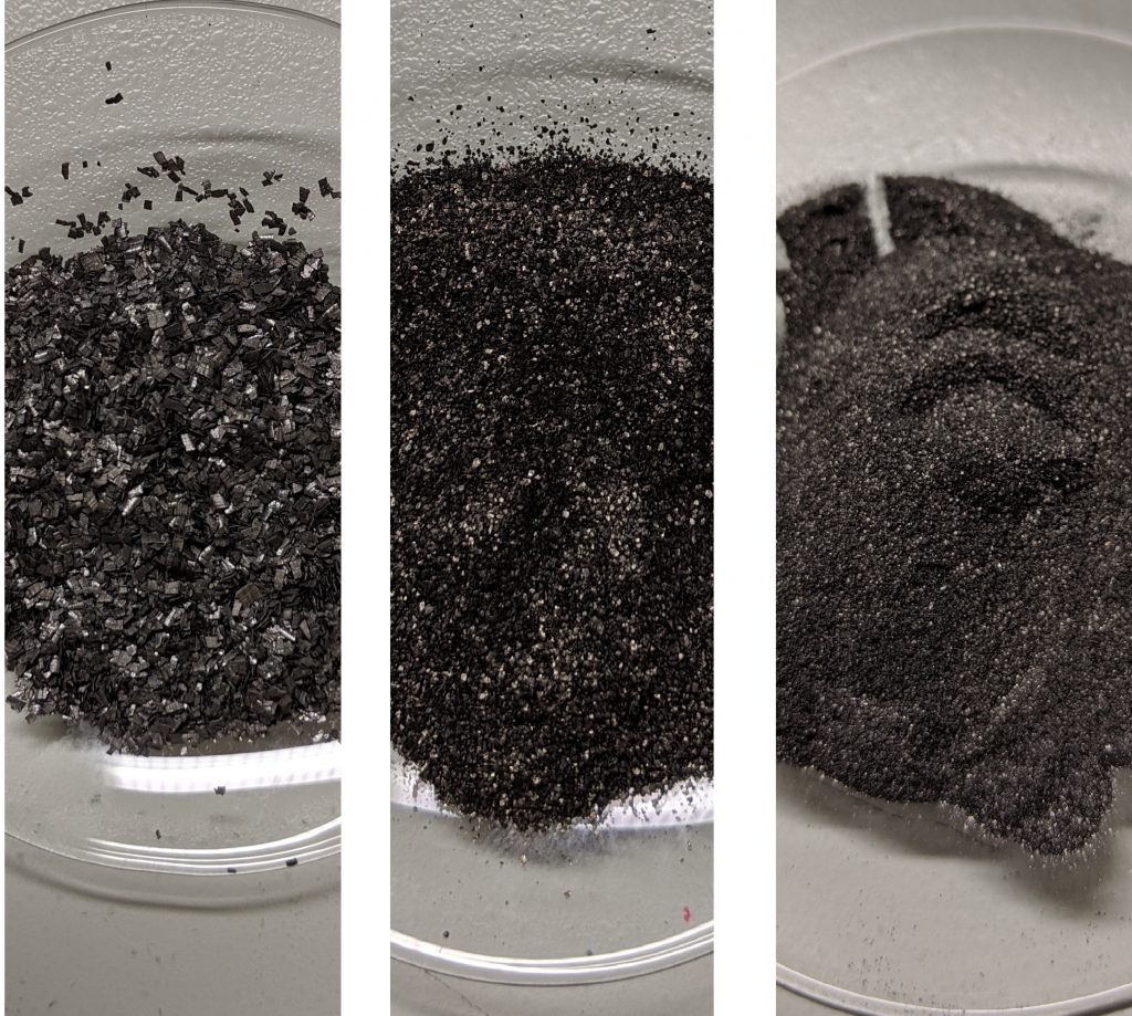 Tungsten alloy powders produced by Bayerische Metallwerke. Photo via Bayerische Metallwerke.