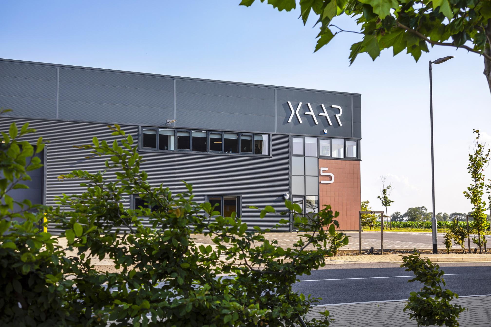 Xaar's new global headquarters in Cambridgeshire. Photo via Xaar.