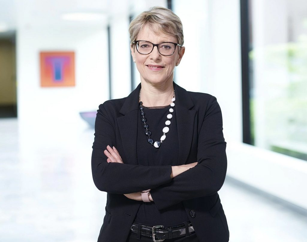 Marcella Montelatic, the new MD of Sales and Services at TRUMPF Machine Tools.