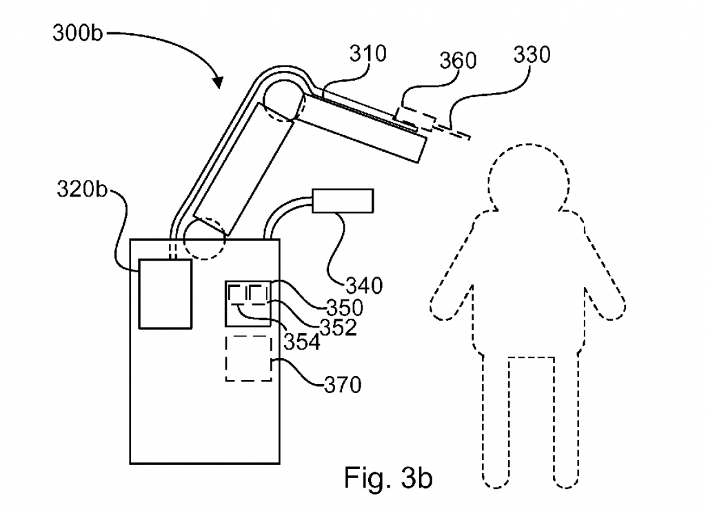 A diagram of CELLINK's bioprinting system, taken from its patent.
