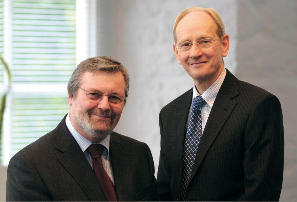 John Deer and Sir David McMurty.