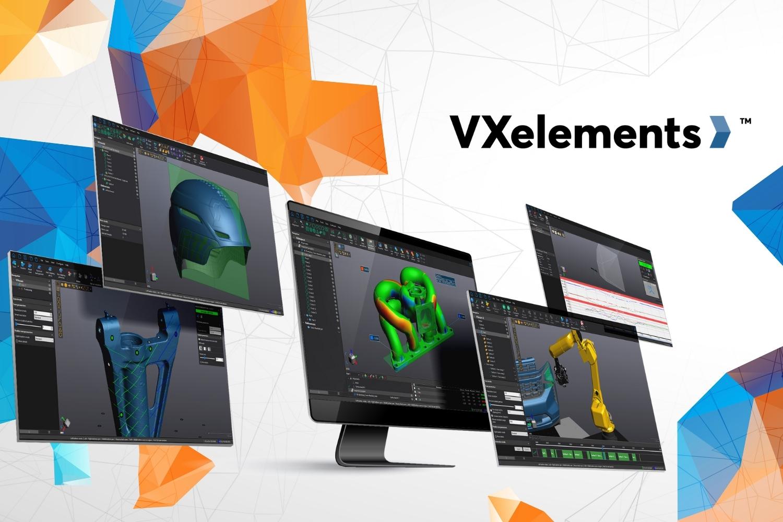Creaform has launched the latest version of its VXelements platform, VXelements 9.0. Image via Creaform.