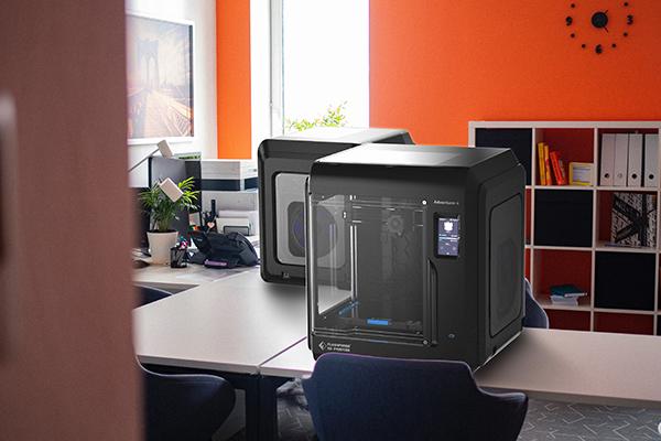 The Flashforge Adventurer 4 3D printer. Photo via Flashforge.