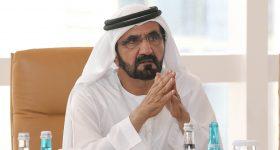 Sheikh Mohammed bin Rashid Al Maktoum has issued Decree No. 24 of 2021 regulating the use of 3D printing in the construction sector in Dubai. Photo via Emirates News Agency (WAM).