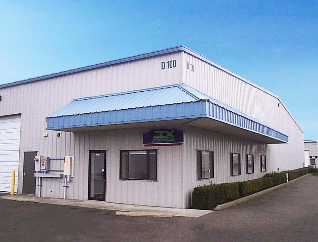 3DX Industries' HQ in Ferndale Washington.
