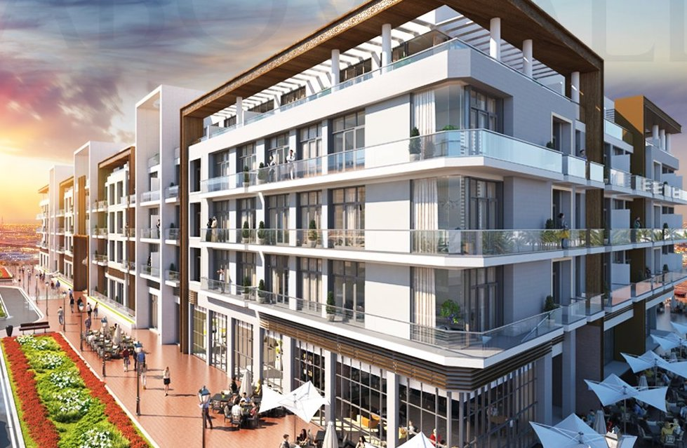One of Pantheon Development's luxury apartment blocks.