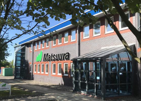 Matsuura Machinery's Leicestershire HQ.