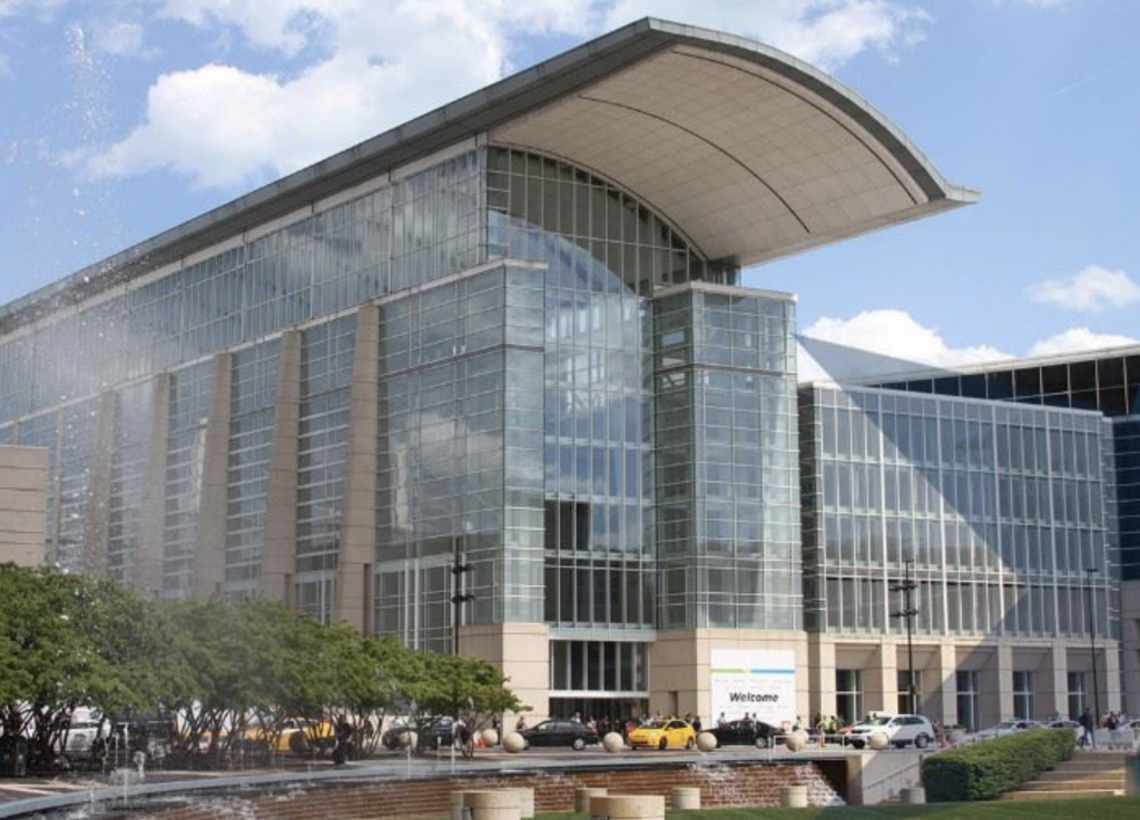 The McCormick Place Conference Center in Chicago Illinois.
