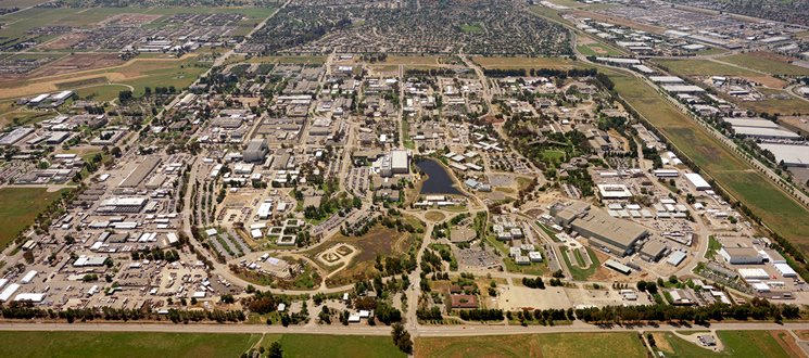 The LLNL campus in Livermore, California. Photo via LLNL.