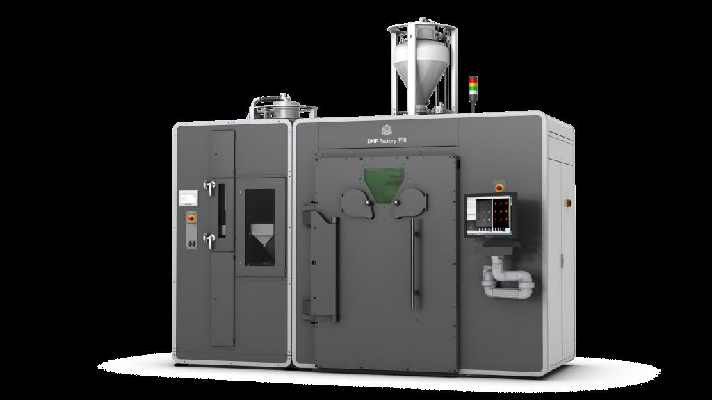 3D Systems' DMP Factory 350 3D printing platform.