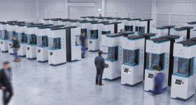A LAKE printer factory. Photo via Azul 3D.