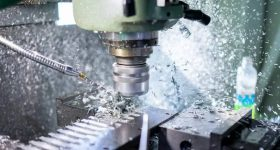 Fractory's platform offers CNC machining services such as milling. Photo via Fractory.