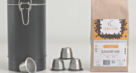 CAPS ME's coffee capsule product range.