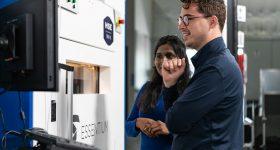 Essentium's HSE 3D printing platform. Photo via Essentium.