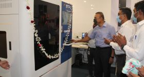 The inauguration event at the company's head office in Surat, Gujarat. Photo via STPL3D.
