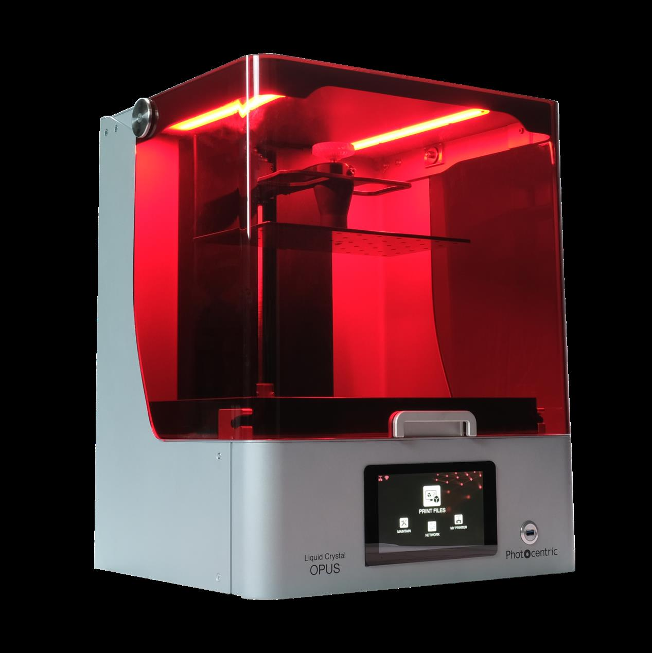 The LC Opus is Photocentric's quickest LCD 3D printer to date. Photo via Photocentric.