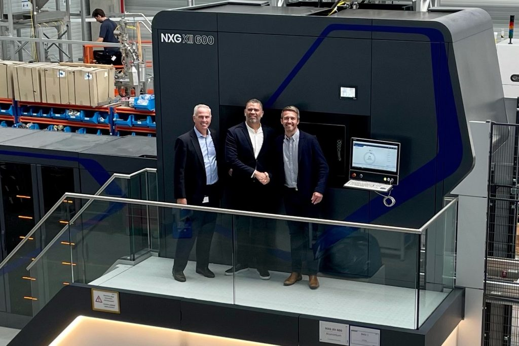 Morf3D's NXG XII 600 installed at its Applied Digital Manufacturing Center.