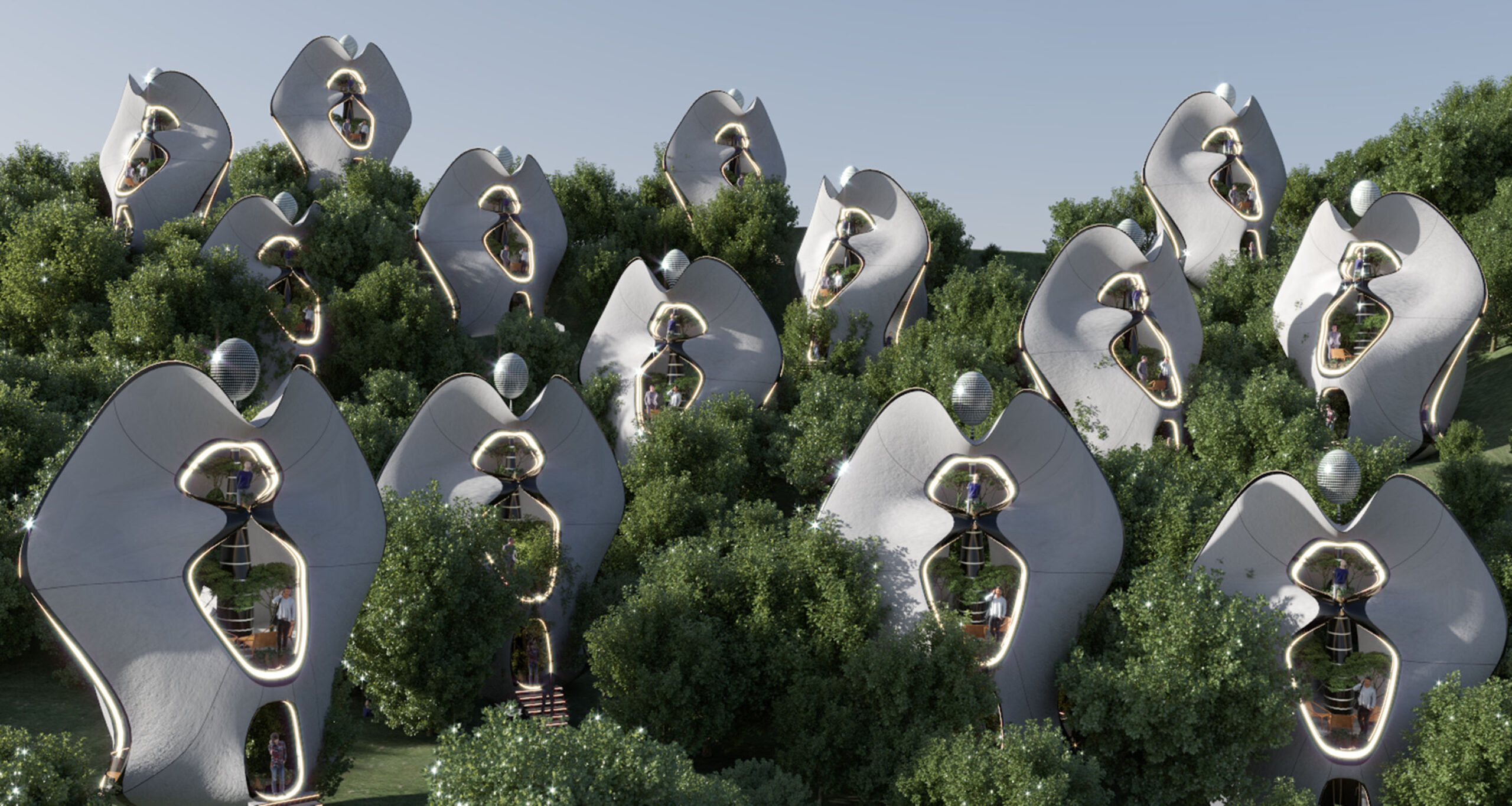 Render of what the Madre Natura development could look like once built. Image via MASK Architects.