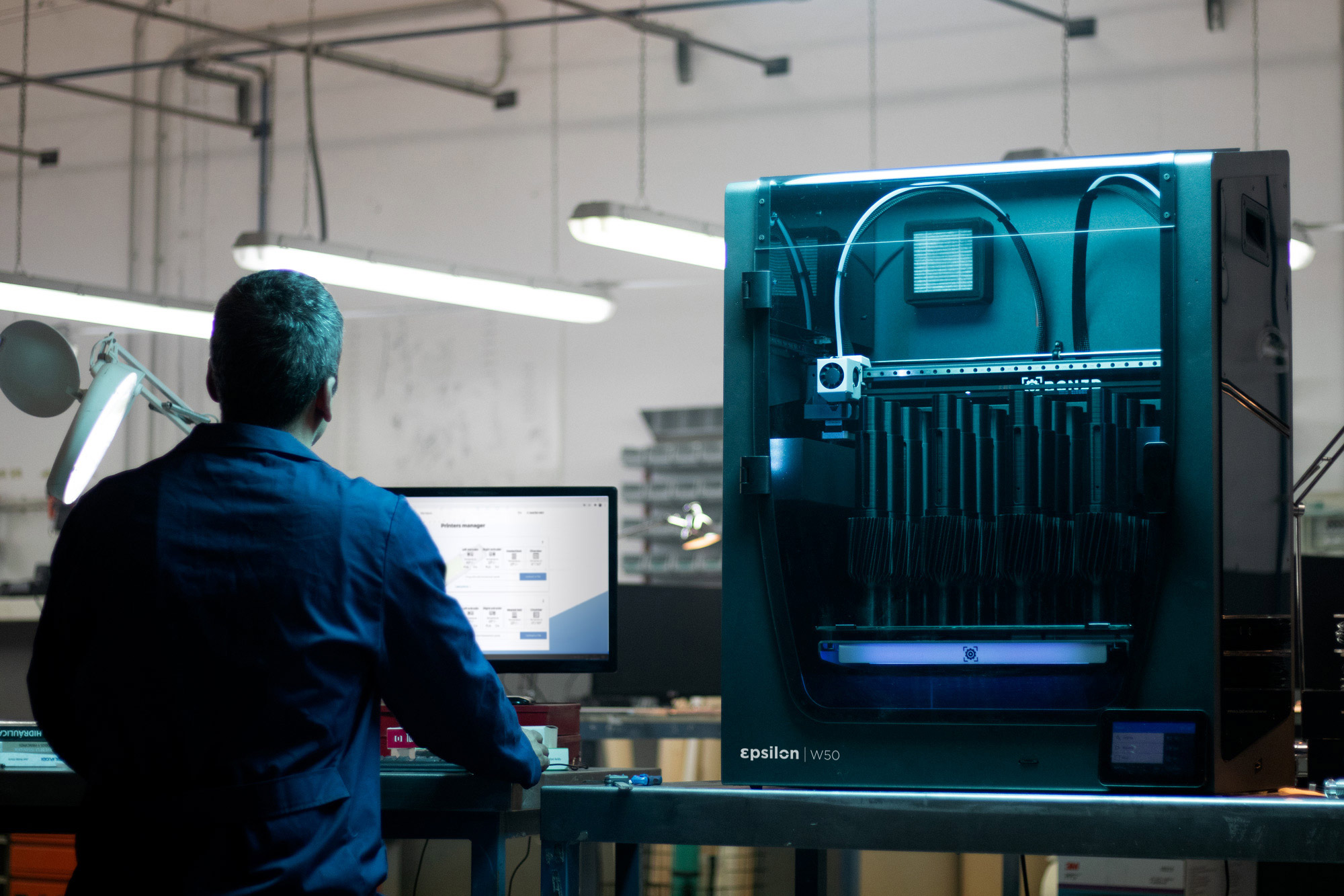 Forward AM has received TÜV Rheinland certification for 3D printing food contact parts. Photo via Forward AM.