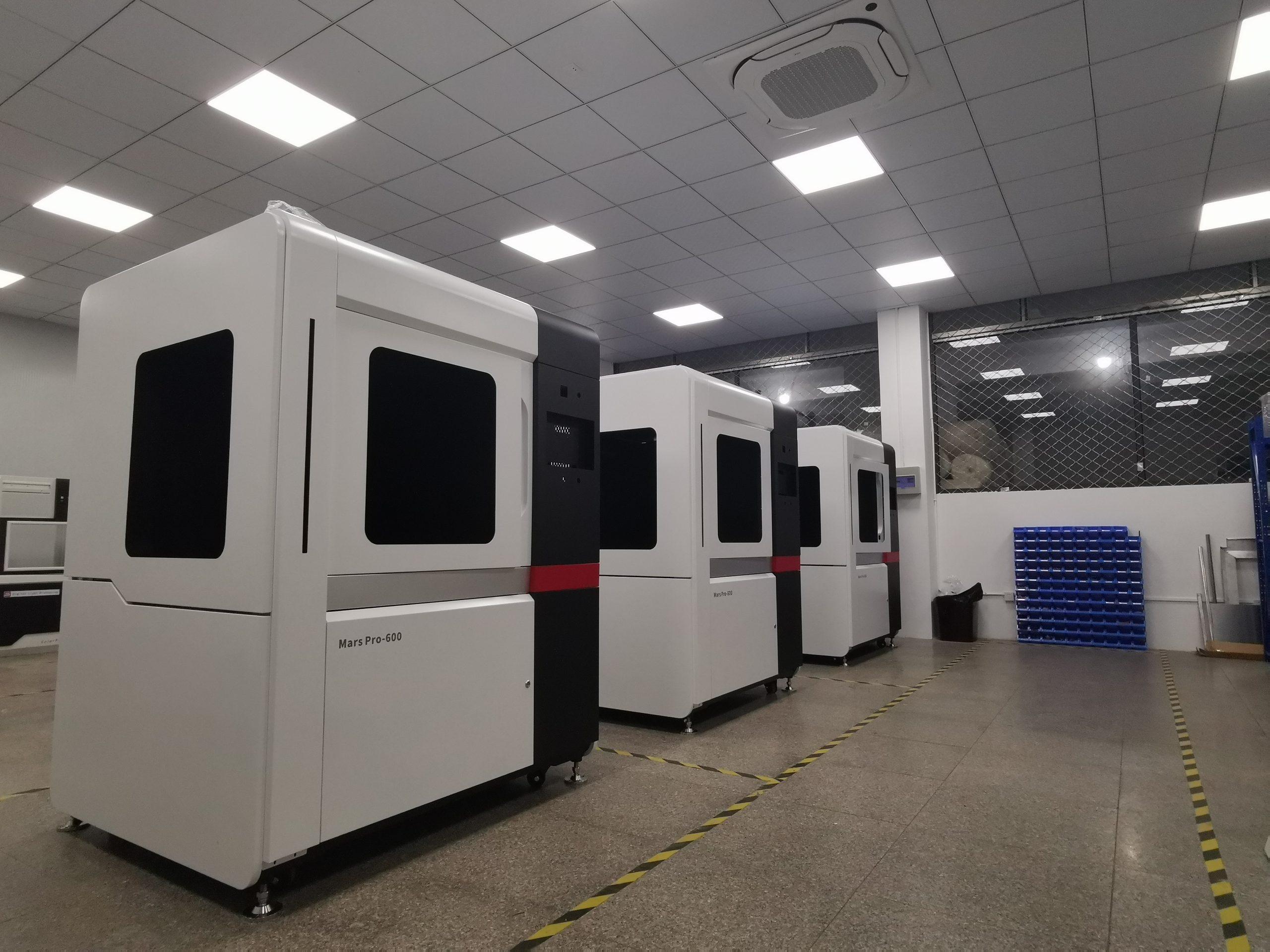 The Mars Pro 3D printer series. Photo via SoonSolid.