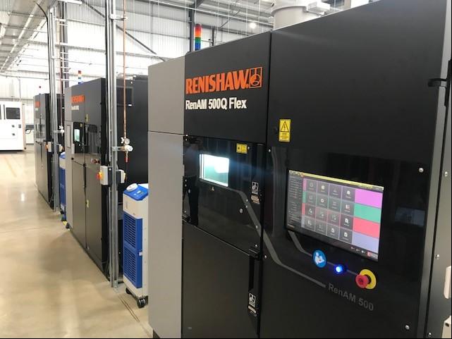 New RenAM 500 Flex machines installed at the DMC.