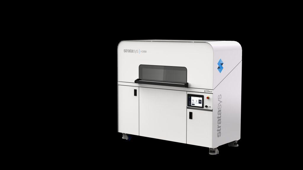 The Stratasys H350 3D printer, featuring SAF technology. Photo via Stratasys.