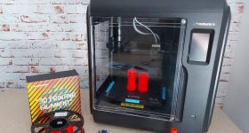 The Adventurer 4 3D printer. Photo by 3D Printing Industry.