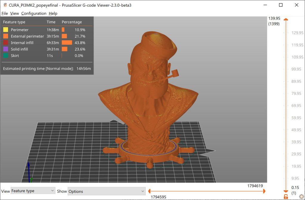 The PrusaSlicer UI. Image via Prusa.