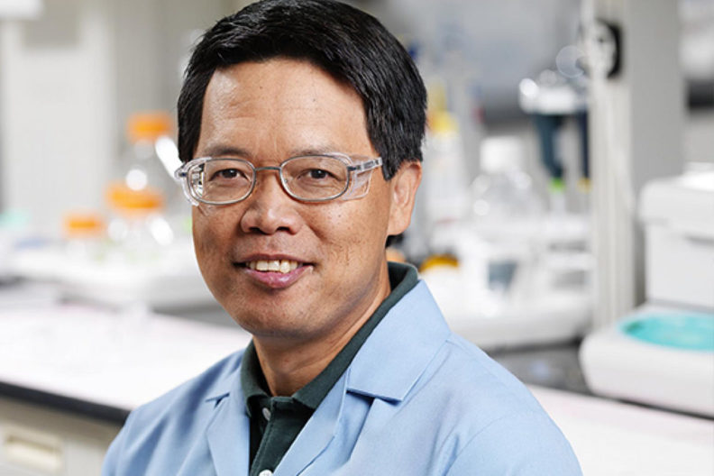 WSU Professor Yuehe Lin.