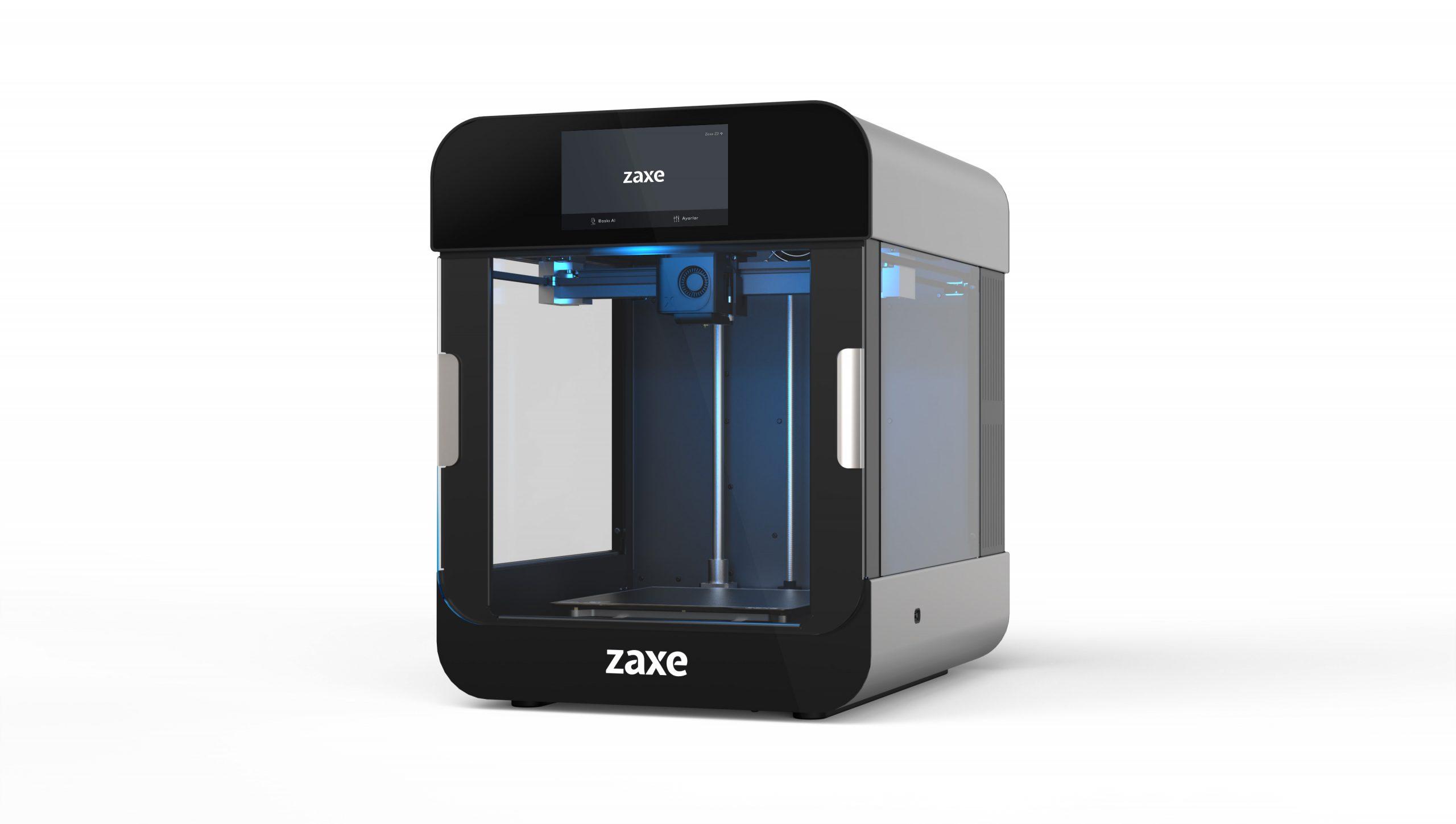 The Zaxe Z2 3D printer. Photo via Zaxe.