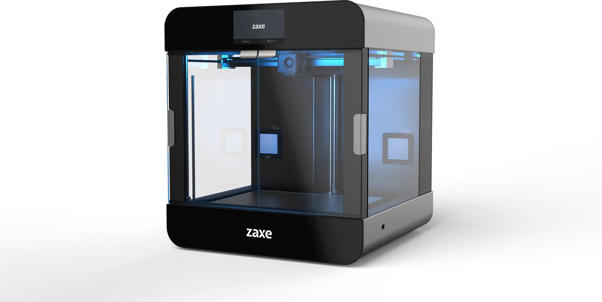 The Zaxe Z3 3D printer. Photo via Zaxe.