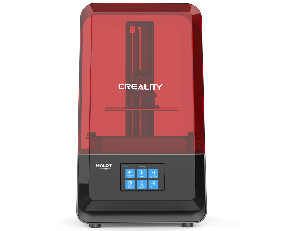 Creality's upcoming HALOT-LITE 3D printer.