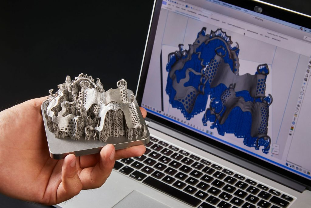 Streamlining dental 3D printing with the Dental Module. Photo via Materialise.