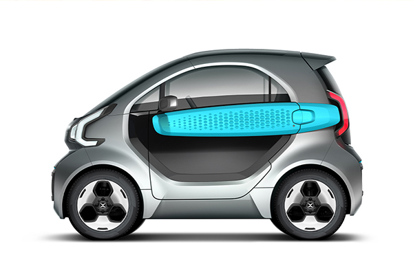 XEV's YoYo 3D printed electric car.