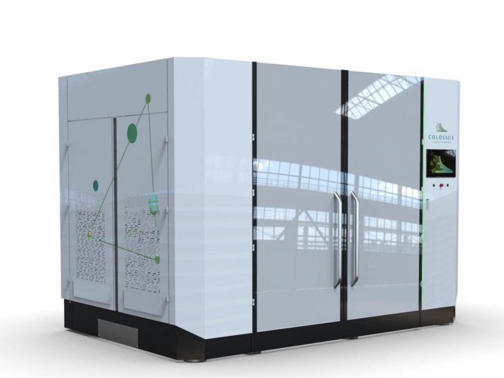 Colossus' XS Series 3D printer. Image via Colossus Printing.