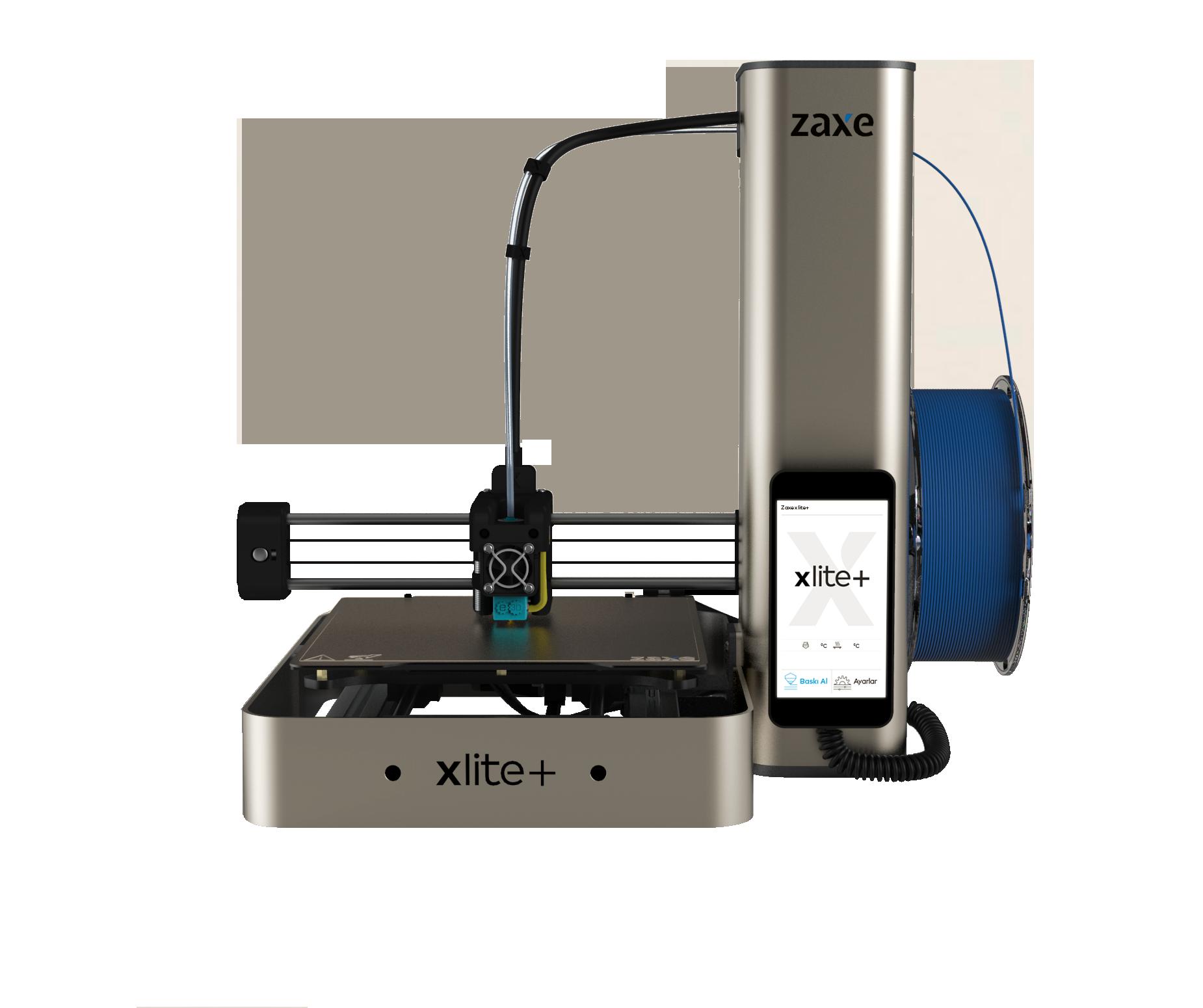 The Zaxe xlite+ 3D printer. Photo via Zaxe.