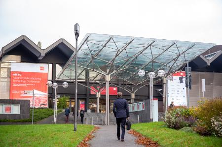 AMTC 2021 Day 2 at Eurogress in Aachen. Photo via Robert Gongoll/Oerlikon.