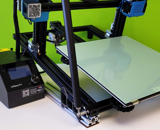 Quinly for the CR-10. Photo via 3DQue.